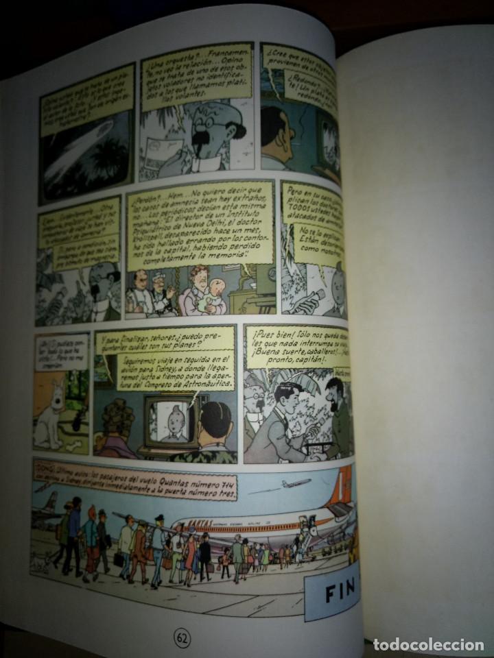 Cómics: TINTIN -VUELO 714 PARA SIDNEY - HERGUE - 1º EDICION 1969 - EDITORIAL JUVENTUT - Foto 5 - 199676601