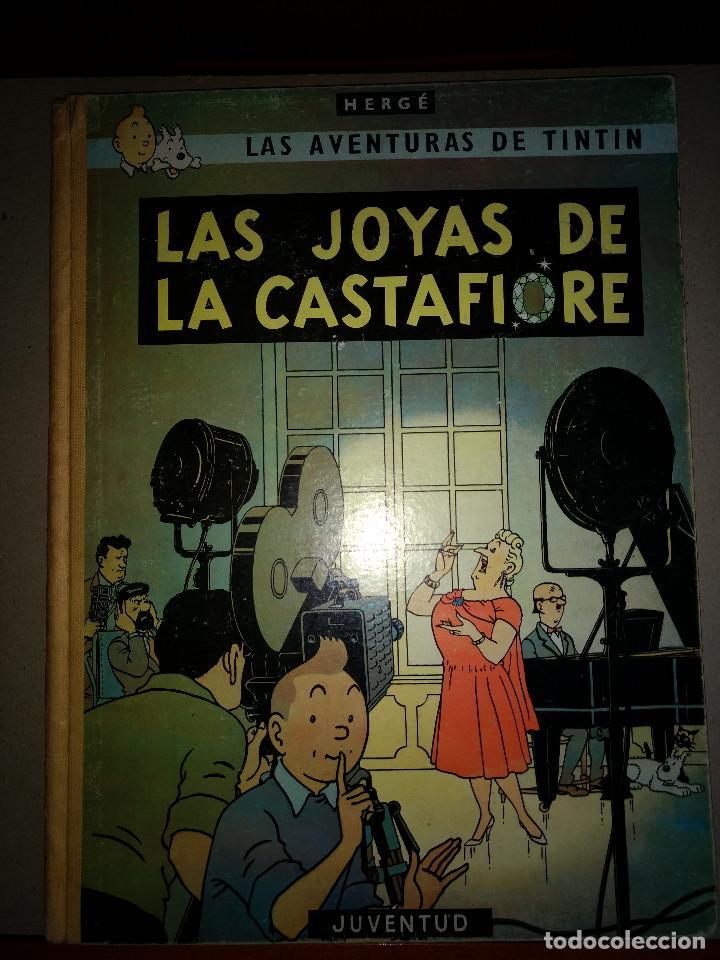 TINTIN LAS JOYAS DE LA CASTAFIORE - 2º EDICION 1965 - EDITORIAL JUVENTUT (Tebeos y Comics - Juventud - Tintín)