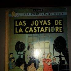 Cómics: TINTIN LAS JOYAS DE LA CASTAFIORE - 2º EDICION 1965 - EDITORIAL JUVENTUT . Lote 199677030