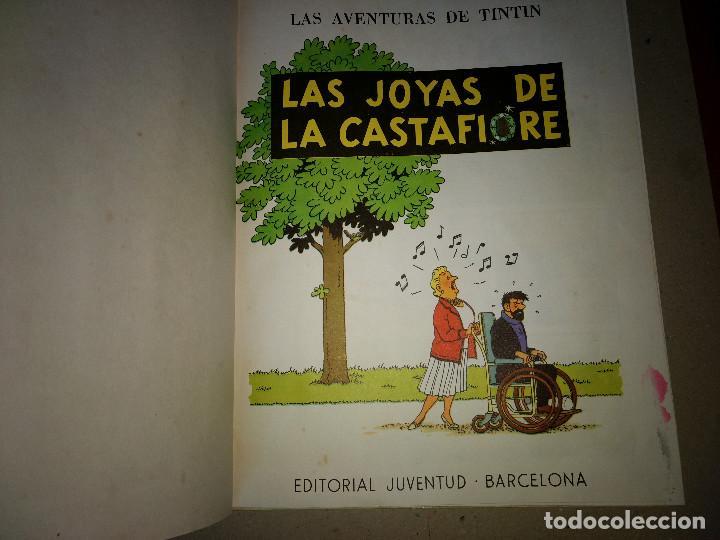 Cómics: TINTIN LAS JOYAS DE LA CASTAFIORE - 2º EDICION 1965 - EDITORIAL JUVENTUT - Foto 2 - 199677030