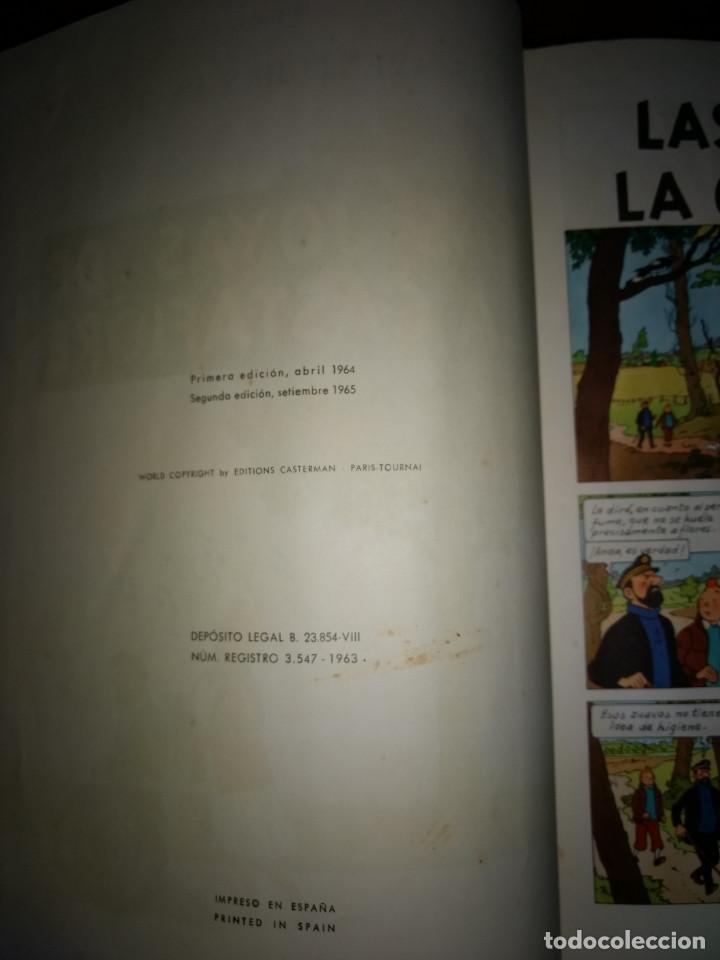 Cómics: TINTIN LAS JOYAS DE LA CASTAFIORE - 2º EDICION 1965 - EDITORIAL JUVENTUT - Foto 4 - 199677030