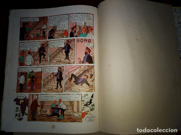 Cómics: TINTIN LAS JOYAS DE LA CASTAFIORE - 2º EDICION 1965 - EDITORIAL JUVENTUT - Foto 6 - 199677030