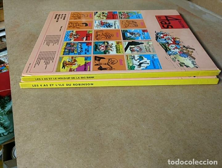 Cómics: LOTE 2 COMIC 4 ASES- LES 4 AS CASTERMAN ORIGINAL 1970-1984 - Foto 3 - 199747083