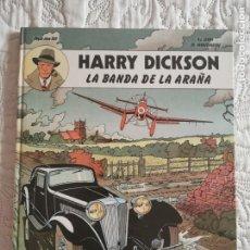 Cómics: HARRY DICKSON - LA BANDA DE LA ARAÑA N. 1. Lote 200132982