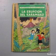 Fumetti: LA ERUPCIÓN DEL KARAMAKO HERGÉ TINTIN. Lote 200307973