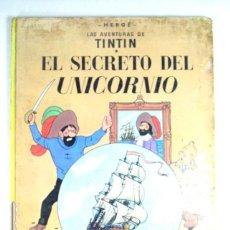 Cómics: LAS AVENTURAS DE TINTIN. EL SECRETO DEL UNICORNIO. JUVENTUD . OCTAVA EDICIÓN. 1981. Lote 200575470