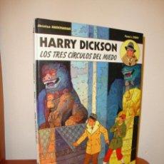 Cómics: HARRY DICKSON: LOS TRES CÍRCULOS DEL MIEDO, Nº 3 - PASCAL J. ZANON - JUVENTUD, RARO. Lote 201319128