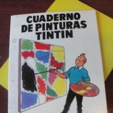 Cómics: CUADERNO DE PINTURAS TINTIN - JUVENTUD 1967 G 4 - COLOREAR - ENVIO GRATIS - SIN USAR. Lote 201914892