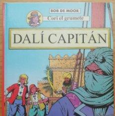 Comics : CORI, EL GRUMETE. DALÍ CAPITÁN. BOB DE MOOR. ED. JUVENTUD, 1994. TAPA DURA.. Lote 202420208