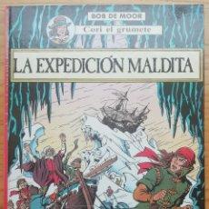 Cómics: CORI, EL GRUMETE. LA EXPEDICIÓN MALDITA. BOB DE MOOR. ED. JUVENTUD, 1989. TAPA DURA.. Lote 202432976