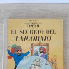Cómics: EL SECRETO DEL UNICORNIO-TINTÍN-ED.JUVENTUD-6ª EDICIÓN-CARTONÉ-AÑO 1977. Lote 202441696