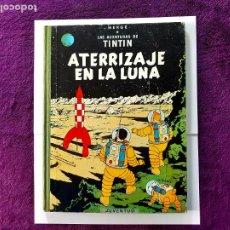 Cómics: TINTIN ATERRIZAJE EN LA LUNA 1º EDICION 1965 EXCELENTE ESTADO. Lote 202855231