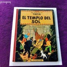 Cómics: TINTIN EL TEMPLO DEL SOL 1ª EDICIÓN LEER DESCRIPCIÓN. Lote 202860383