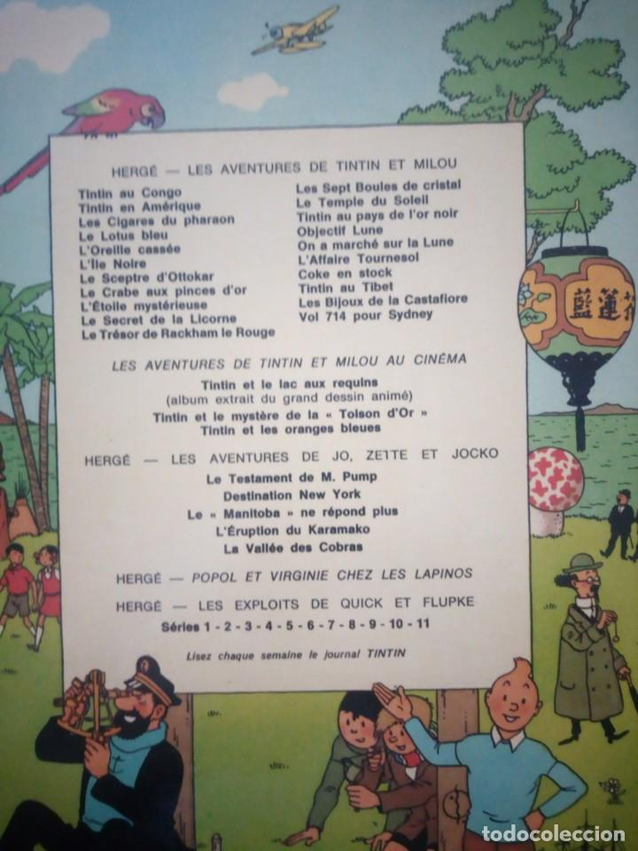 Cómics: tintin letoile mysterieuse 1966 belgium,en frances. - Foto 12 - 197502378