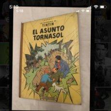 Comics : TINTIN. EL ASUNTO TORNASOL. LOMO DE TELA. EDICIÓN DÉCADA DE LOS 60.. Lote 203100948