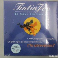 Cómics: TINTIN JOC / EL SAVI TINTINAIRE / TRIVIAL / PRECINTADO / CATALAN. Lote 203333225