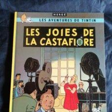 Comics : TINTIN LES JOIES DE LA CASTAFIORE ** ED. JUVENTUD ** 10º EDICION 1989 ** HERGE. Lote 203527273