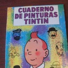 Cómics: CUADERNO DE PINTURAS TINTIN G 6 / JUVENTUD CASTERMAN 1967 - SIN USAR - IMPECABLE. Lote 203844906
