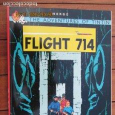 Cómics: THE ADVENTURES OF TINTIN - FLIGHT 714 - HERGÉ EDICIONES DEL PRADO. Lote 203872188