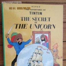 Cómics: THE ADVENTURES OF TINTIN - THE SECRET OF UNICORN - HERGÉ EDICIONES DEL PRADO. Lote 203872496