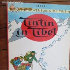Cómics: THE ADVENTURES OF TINTIN - TINTIN IN TIBET - HERGÉ EDICIONES DEL PRADO. Lote 203872750