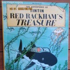 Cómics: THE ADVENTURES OF TINTIN - RED RACKHAM´S TREASURE - HERGÉ EDICIONES DEL PRADO. Lote 203873496