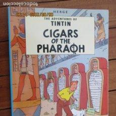 Cómics: THE ADVENTURES OF TINTIN - THE CIGARS OF THE PHARAOH - HERGÉ EDICIONES DEL PRADO. Lote 203873733