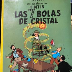 Cómics: LAS AVENTURAS DE TINTIN. LAS 7 BOLAS DE CRISTAL. HERGÉ TAPA BLANDA. JUVENTUD- 1986.MBE TEVENI. Lote 204369092