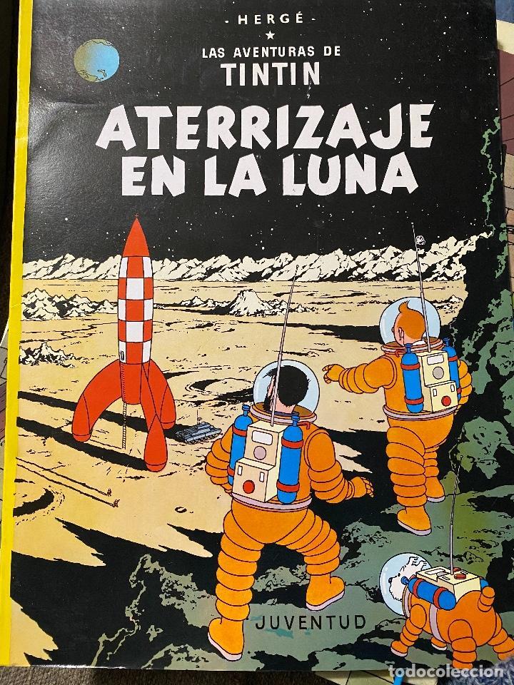 LAS AVENTURAS DE TINTIN: ATERRIZAJE EN LA LUNA, 1989, JUVENTUD, IMPECABLE (Tebeos y Comics - Juventud - Tintín)