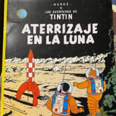 Cómics: LAS AVENTURAS DE TINTIN: ATERRIZAJE EN LA LUNA, 1989, JUVENTUD, IMPECABLE. Lote 204369163