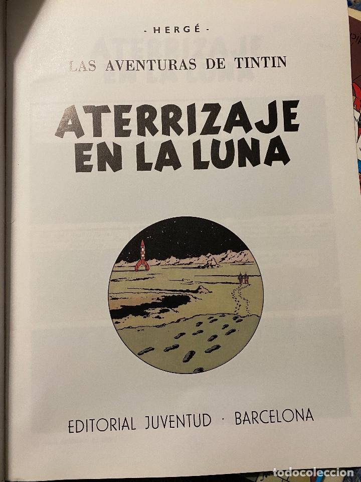 Cómics: Las aventuras de Tintin: aterrizaje en la Luna, 1989, Juventud, impecable - Foto 2 - 204369163