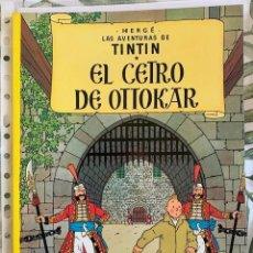 Cómics: TINTIN Y EL CETRO DE OTTOKAR TINTIN HERGE EDITORIAL JUVENTUD 2003 TAPA BLANDA. Lote 204968508