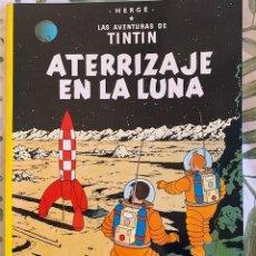 Cómics: TINTIN ATERRIZAJE EN LA LUNA TINTIN HERGE EDITORIAL JUVENTUD 2003 TAPA BLANDA. Lote 204968647