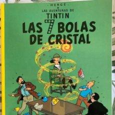 Comics: TINTIN LAS SIETE BOLAS DE CRISTAL TINTIN HERGE EDITORIAL JUVENTUD 2003 TAPA BLANDA. Lote 204968710