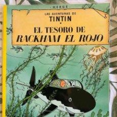 Cómics: TINTIN EL TESORO DE BACKHAM EL ROJO TINTIN HERGE EDITORIAL JUVENTUD 2003 TAPA BLANDA. Lote 204968740