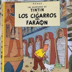 Cómics: TINTIN LOS CIGARROS DEL FARAON TINTIN HERGE EDITORIAL JUVENTUD 2003 TAPA BLANDA. Lote 204968837