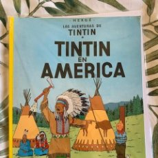 Cómics: TINTIN EN AMERICA TINTIN HERGE EDITORIAL JUVENTUD 2003 TAPA BLANDA. Lote 223487745