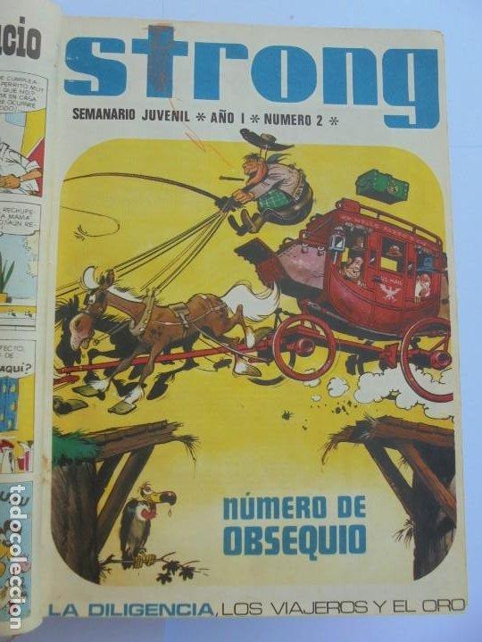Cómics: STRONG. SEMINARIO JUVENIL. NUMERO 1 AL 30.EDICIONES ARGOS JUVENIL 1969. VER FOTOGRAFIAS ADJUNTAS - Foto 10 - 205025410