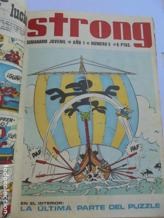 Cómics: STRONG. SEMINARIO JUVENIL. NUMERO 1 AL 30.EDICIONES ARGOS JUVENIL 1969. VER FOTOGRAFIAS ADJUNTAS - Foto 16 - 205025410