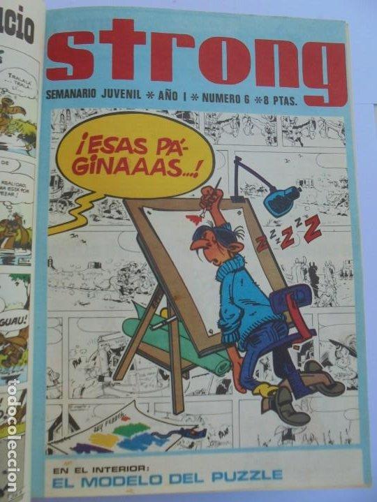 Cómics: STRONG. SEMINARIO JUVENIL. NUMERO 1 AL 30.EDICIONES ARGOS JUVENIL 1969. VER FOTOGRAFIAS ADJUNTAS - Foto 19 - 205025410