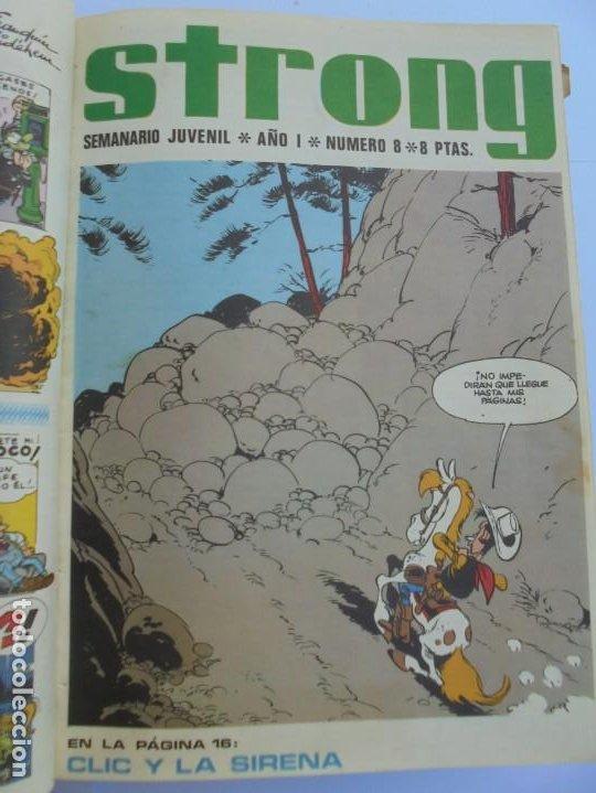 Cómics: STRONG. SEMINARIO JUVENIL. NUMERO 1 AL 30.EDICIONES ARGOS JUVENIL 1969. VER FOTOGRAFIAS ADJUNTAS - Foto 24 - 205025410