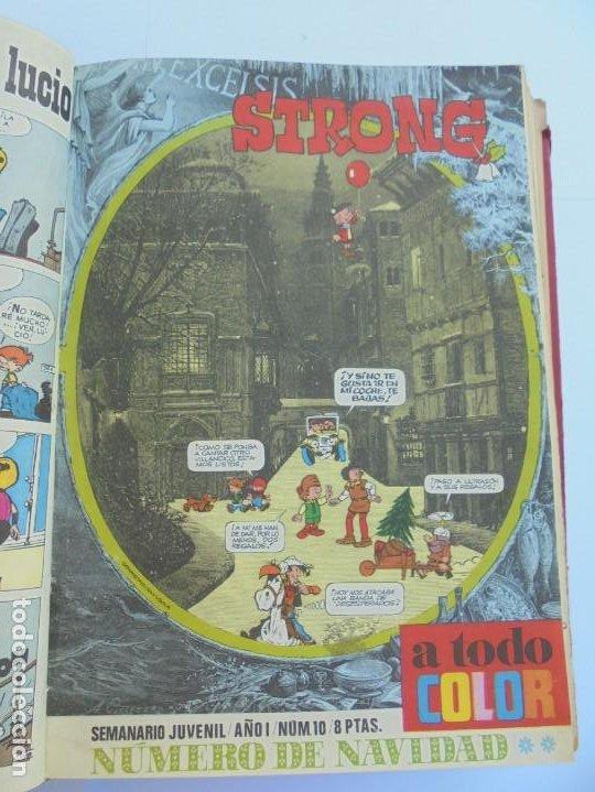 Cómics: STRONG. SEMINARIO JUVENIL. NUMERO 1 AL 30.EDICIONES ARGOS JUVENIL 1969. VER FOTOGRAFIAS ADJUNTAS - Foto 26 - 205025410
