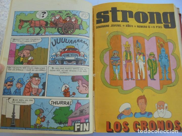 Cómics: STRONG. SEMINARIO JUVENIL. NUMERO 1 AL 30.EDICIONES ARGOS JUVENIL 1969. VER FOTOGRAFIAS ADJUNTAS - Foto 29 - 205025410