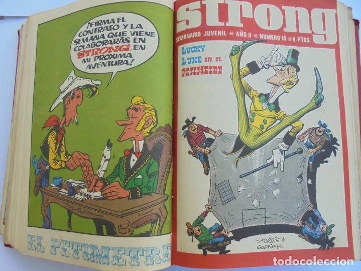 Cómics: STRONG. SEMINARIO JUVENIL. NUMERO 1 AL 30.EDICIONES ARGOS JUVENIL 1969. VER FOTOGRAFIAS ADJUNTAS - Foto 30 - 205025410