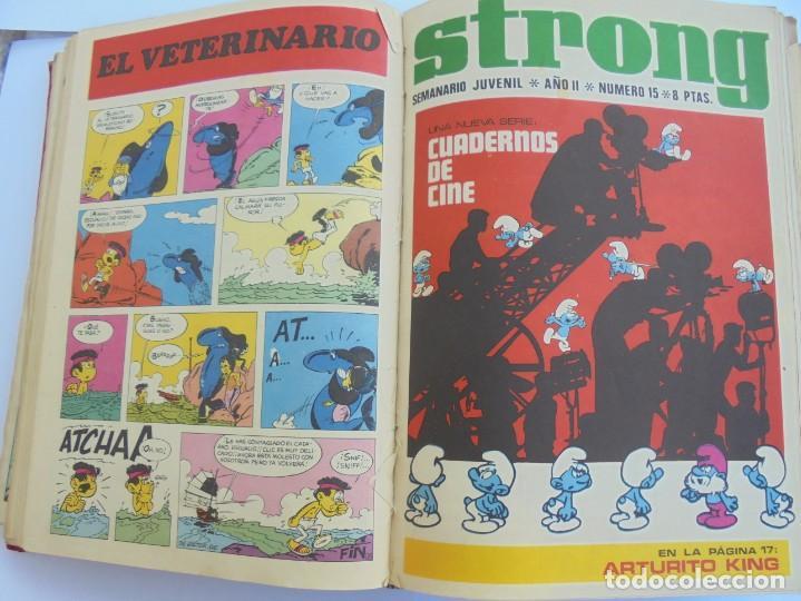 Cómics: STRONG. SEMINARIO JUVENIL. NUMERO 1 AL 30.EDICIONES ARGOS JUVENIL 1969. VER FOTOGRAFIAS ADJUNTAS - Foto 32 - 205025410