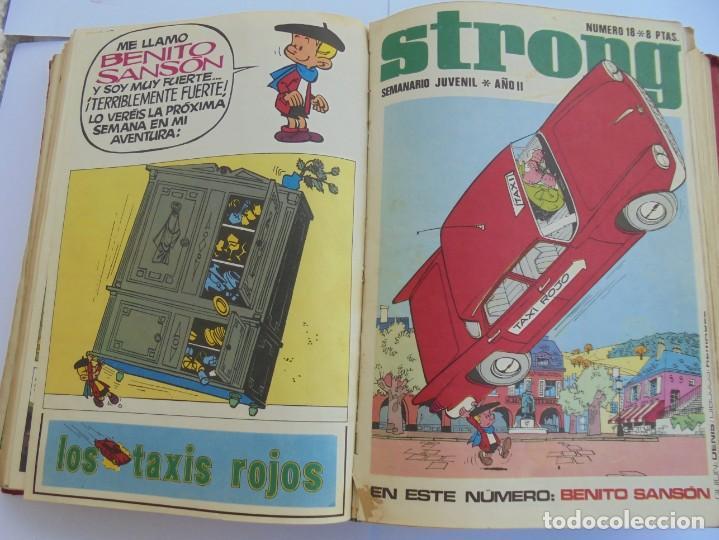 Cómics: STRONG. SEMINARIO JUVENIL. NUMERO 1 AL 30.EDICIONES ARGOS JUVENIL 1969. VER FOTOGRAFIAS ADJUNTAS - Foto 36 - 205025410