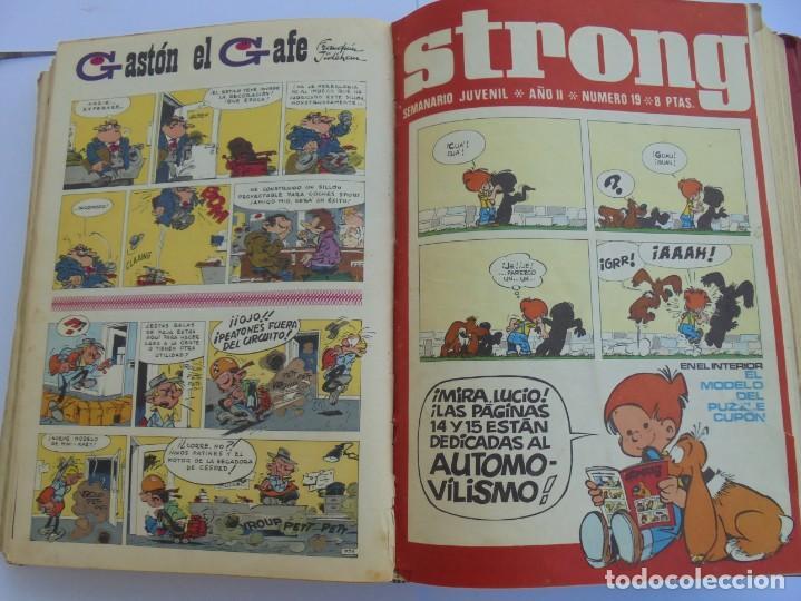 Cómics: STRONG. SEMINARIO JUVENIL. NUMERO 1 AL 30.EDICIONES ARGOS JUVENIL 1969. VER FOTOGRAFIAS ADJUNTAS - Foto 37 - 205025410