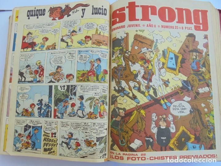 Cómics: STRONG. SEMINARIO JUVENIL. NUMERO 1 AL 30.EDICIONES ARGOS JUVENIL 1969. VER FOTOGRAFIAS ADJUNTAS - Foto 38 - 205025410