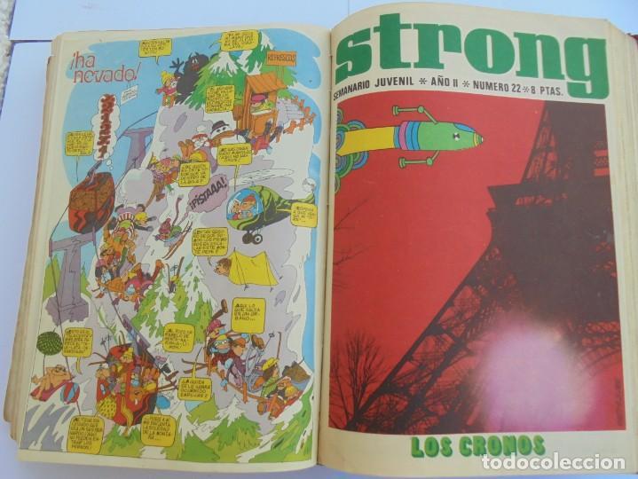 Cómics: STRONG. SEMINARIO JUVENIL. NUMERO 1 AL 30.EDICIONES ARGOS JUVENIL 1969. VER FOTOGRAFIAS ADJUNTAS - Foto 41 - 205025410