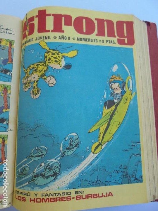 Cómics: STRONG. SEMINARIO JUVENIL. NUMERO 1 AL 30.EDICIONES ARGOS JUVENIL 1969. VER FOTOGRAFIAS ADJUNTAS - Foto 43 - 205025410